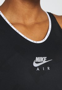 Nike Performance - AIR TANK - Sports shirt - black/reflective silver - 5
