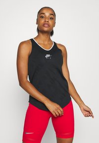 Nike Performance - AIR TANK - Camiseta de deporte - black/reflective silver - 0