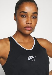Nike Performance - AIR TANK - Sports shirt - black/reflective silver