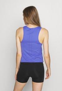 Nike Performance - AEROSWIFT SINGLET - Sports shirt - sapphire/black - 2