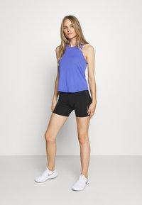 Nike Performance - AEROSWIFT SINGLET - Sports shirt - sapphire/black - 1