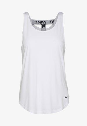 DRY VICTORY ELASTIKA TANK - Camiseta de deporte - white/black