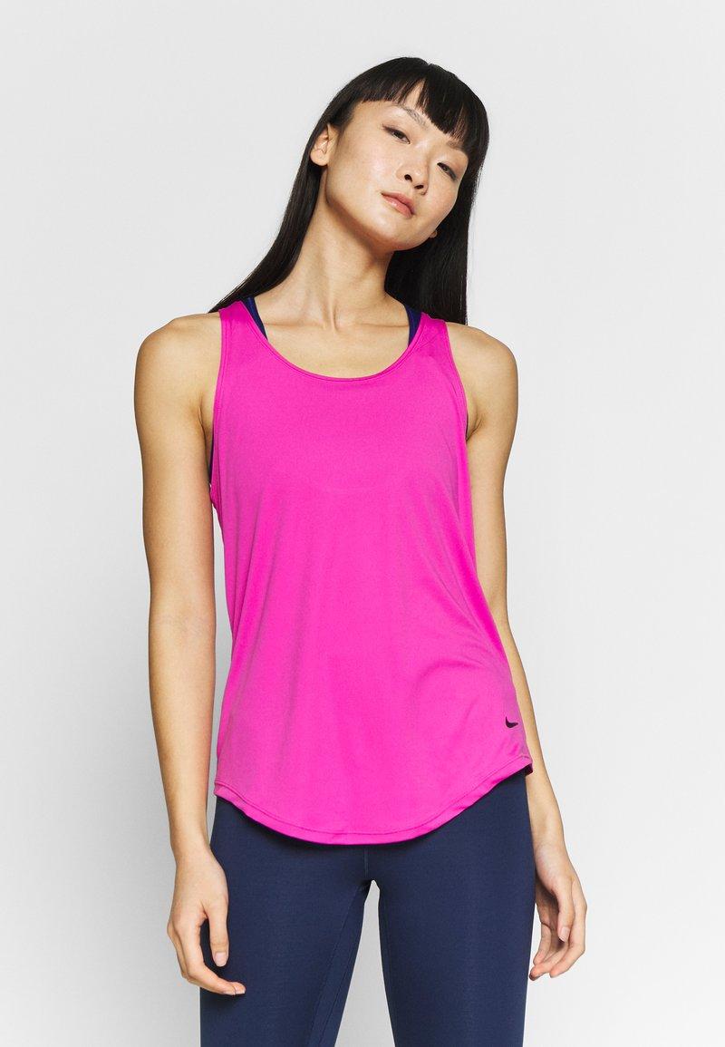Nike Performance - DRY VICTORY ELASTIKA TANK - Sports shirt - active fuchsia