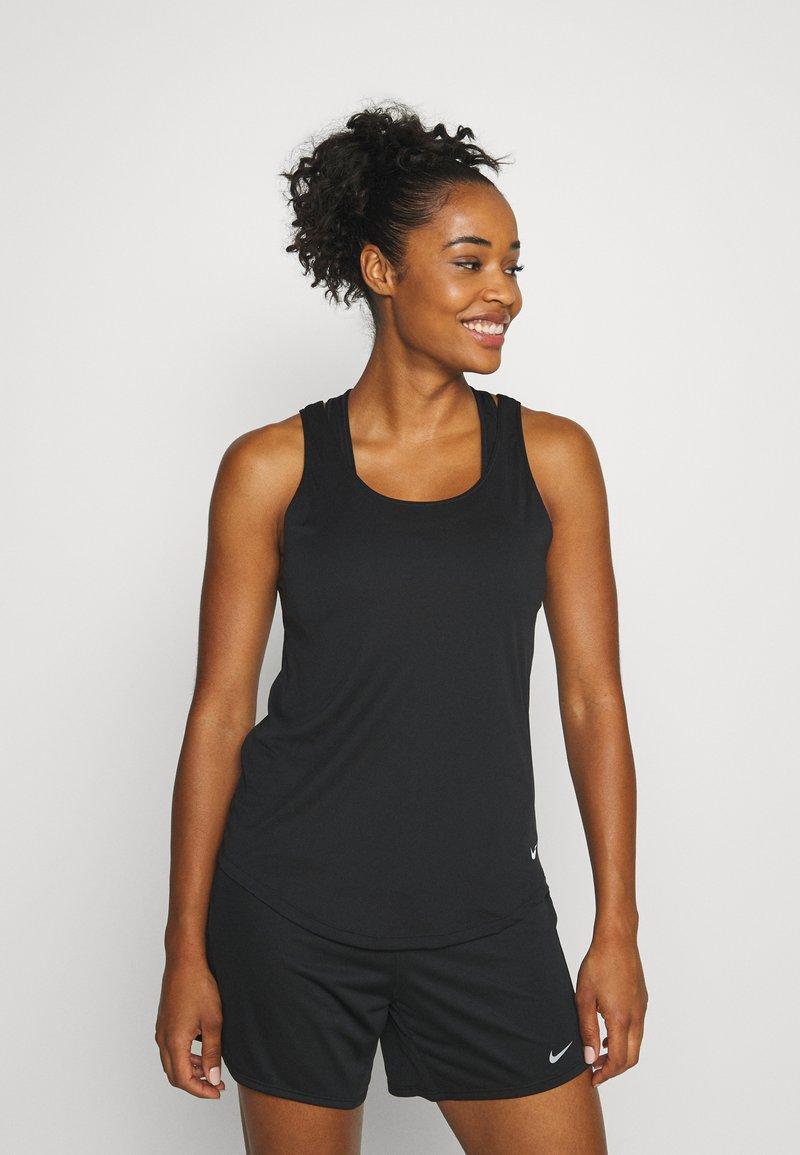 Nike Performance - DRY VICTORY ELASTIKA TANK - Sportshirt - black/reflective silver