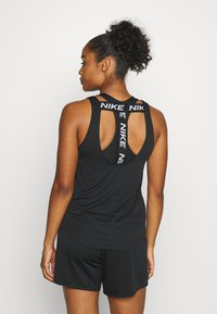Nike Performance - DRY VICTORY ELASTIKA TANK - Sports shirt - black/reflective silver - 2