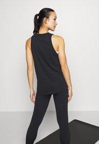 Nike Performance - DRY TANK YOGA - Treningsskjorter - black - 3