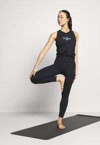 Nike Performance - DRY TANK YOGA - Treningsskjorter - black - 1