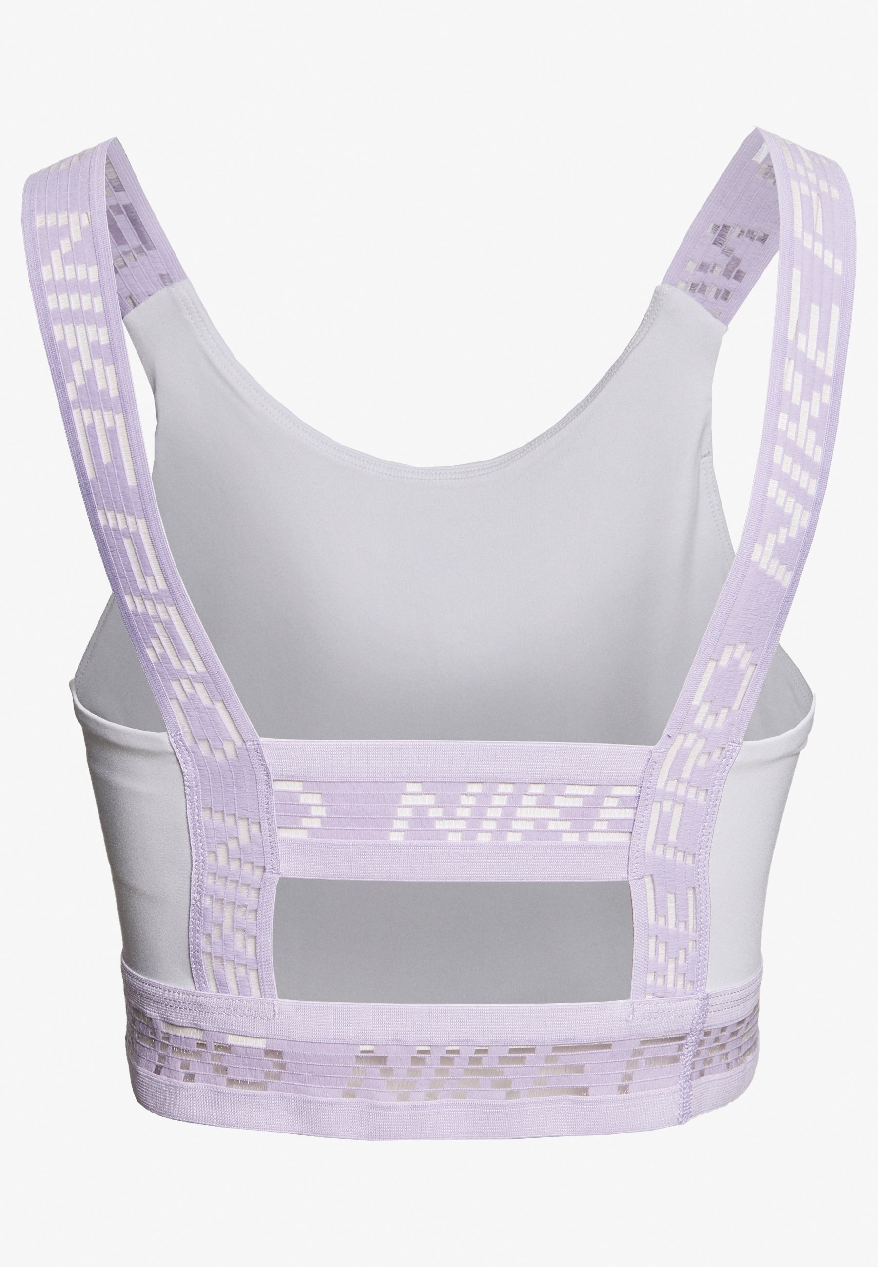 Nike Performance Crop Tank - Funktionströja Photon Dust/infinite Lilac/metallic Silver