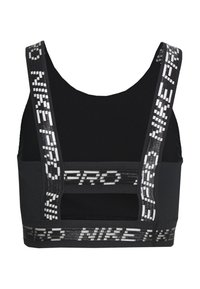 Nike Performance - CROP TANK - Sports shirt - black/black - 1