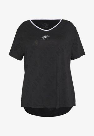 W NK AIR  - T-shirt imprimé - black/silver