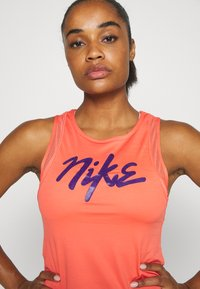 Nike Performance - TANK RUNWAY - Sports shirt - magic ember/eggplant - 3