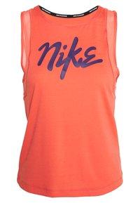 Nike Performance - TANK RUNWAY - Camiseta de deporte - magic ember/eggplant - 0