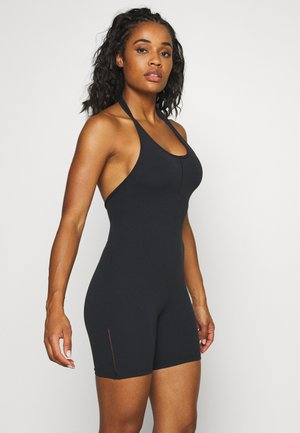 YOGA LUXE JUMPSUIT - Gym suit - black