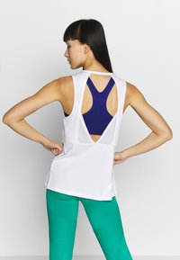 Nike Performance - TANK ESSENTIAL - Sports shirt - white