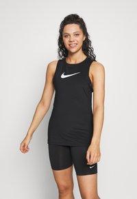 Nike Performance - TANK ESSENTIAL - Tekninen urheilupaita - black - 0