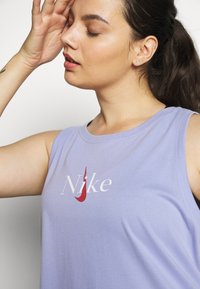 Nike Performance - DRY TANK - Camiseta de deporte - light thistle - 4