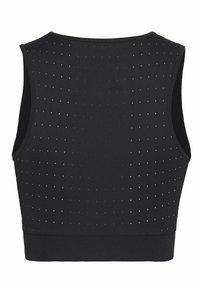 Nike Performance - AEROSWIFT CROP - Camiseta de deporte - black/white - 1
