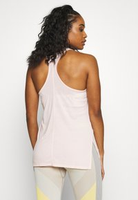 Nike Performance - YOGA LAYER TANK - Sports shirt - washed coral/pink quartz - 2