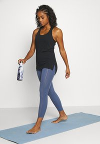 Nike Performance - YOGA LAYER TANK - Sports shirt - black - 1