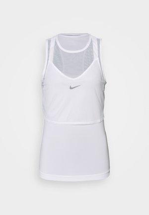 DRY TANK  - Sports shirt - white/black