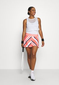 Nike Performance - DRY TANK  - Sports shirt - white/black - 1