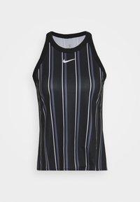 Nike Performance - DRY TANK PRINTED - Sports shirt - black/white - 4