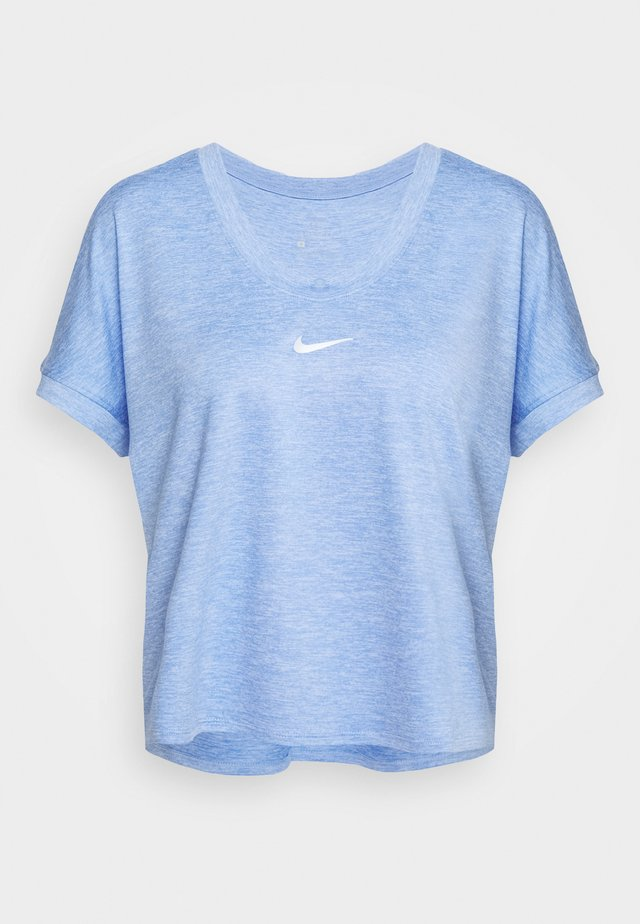 DRY TOP - T-shirt print - royal pulse/white