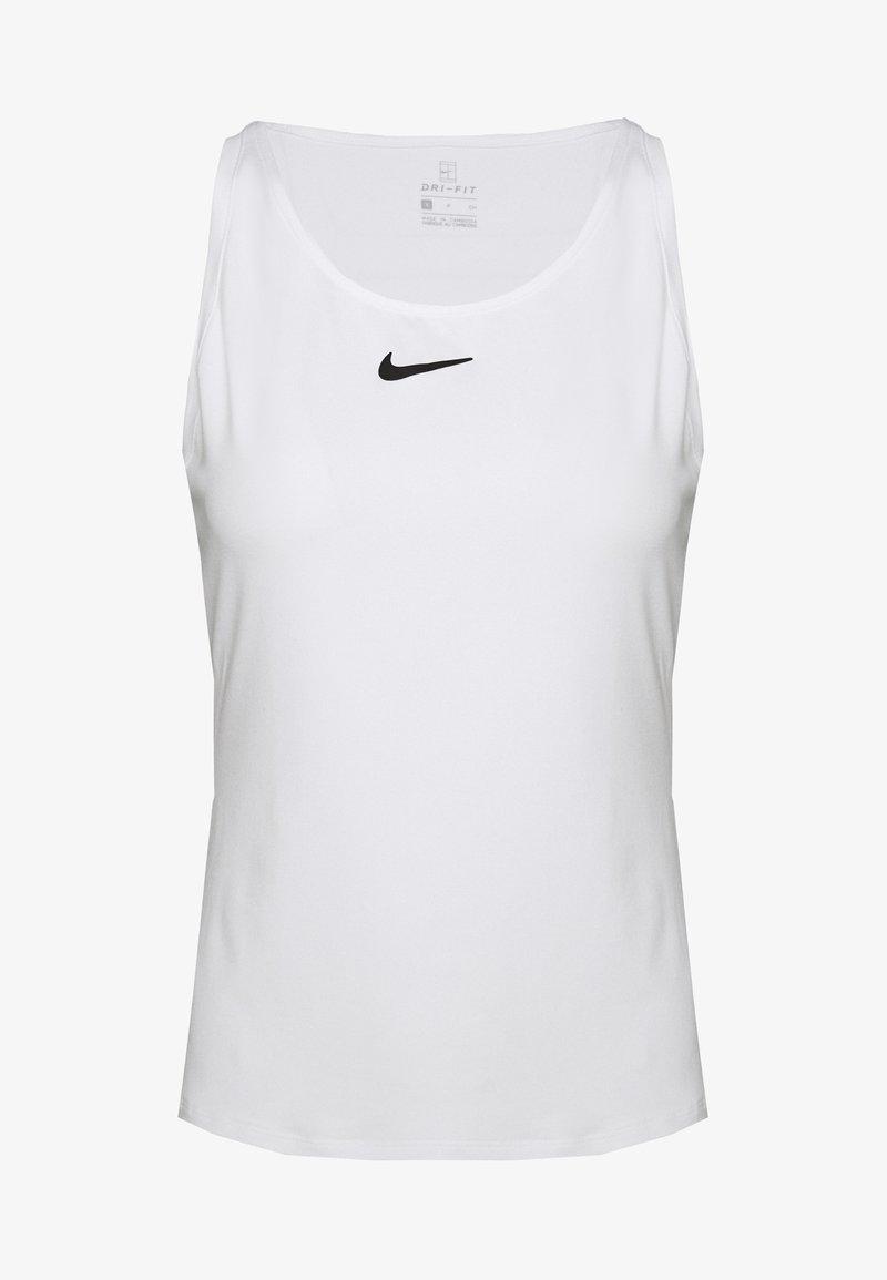 Nike Performance - DRY TANK - Treningsskjorter - white/black