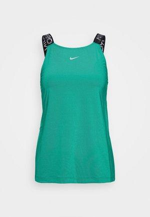 ELASTIKA TANK - Sportshirt - neptune green/black/metallic silver