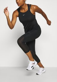 Nike Performance - ELASTIKA TANK - Sports shirt - black/silver - 4