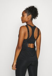 Nike Performance - ELASTIKA TANK - Sports shirt - black/silver - 2