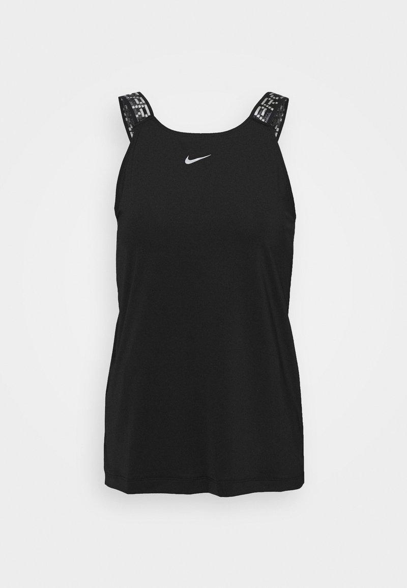 Nike Performance ELASTIKA TANK - T-shirt sportiva - black/silver KnpNUG vendita online