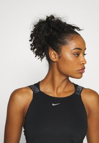 Nike Performance - ELASTIKA TANK - Sports shirt - black/silver - 3