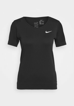 INFINITE - T-shirt print - black/silver