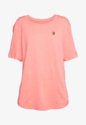 TEE COURT - T-shirt basic - sun blush