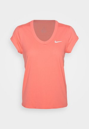 DRY  - T-shirt basic - sunblush/white