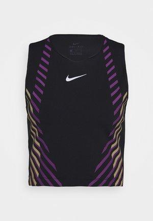 RUNWAY - Camiseta de deporte - black/silver