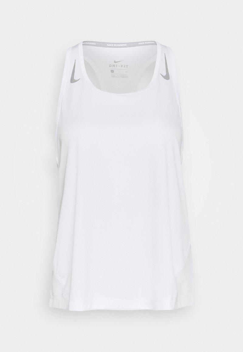 Nike Performance - MILER TANK RACER - Camiseta de deporte - white
