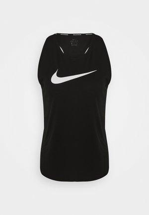 RUN TANK - Camiseta de deporte - black/silver/white