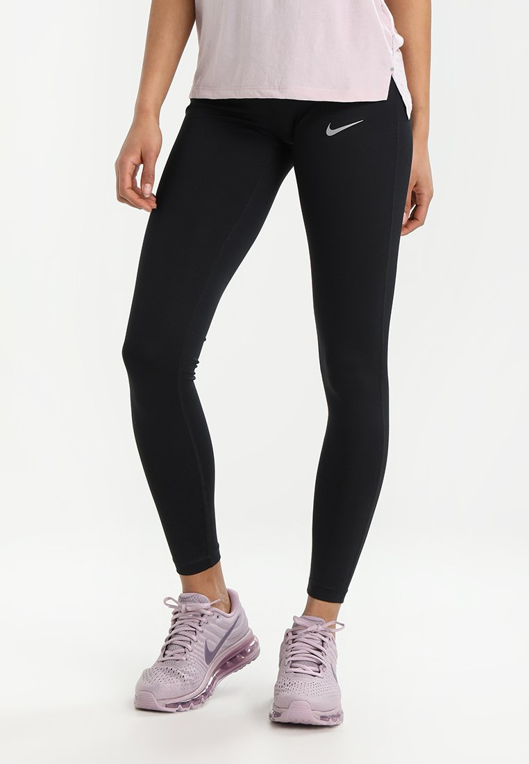 Nike Performance - POWER ESSENTIAL DRI-FIT - Collant - black/reflective silver