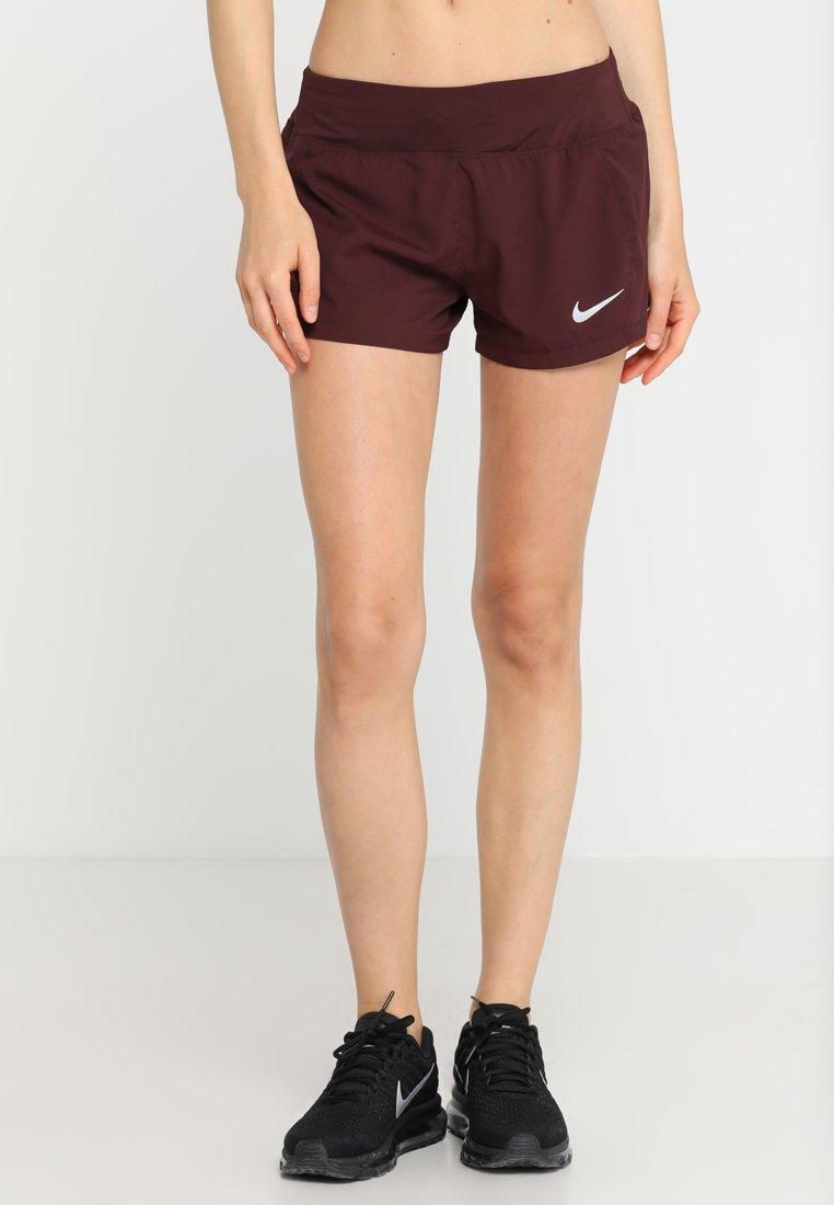 Nike Performance - FLEX SHORT ECLIPSE - Pantalón corto de deporte - burgundy crush/silver