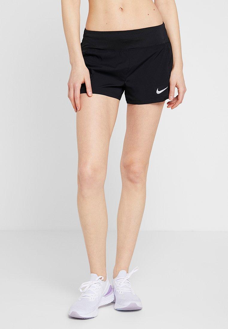 Nike Performance - FLEX SHORT ECLIPSE - Korte sportsbukser - black/reflective silver