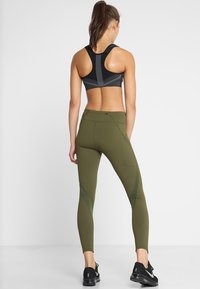 Nike Performance - POWER EPIC LUX - Tights - olive canvas - 2