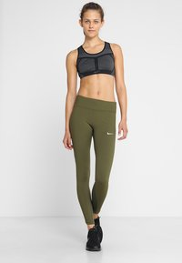 Nike Performance - POWER EPIC LUX - Tights - olive canvas - 1