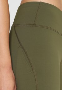 Nike Performance - POWER EPIC LUX - Tights - olive canvas - 4