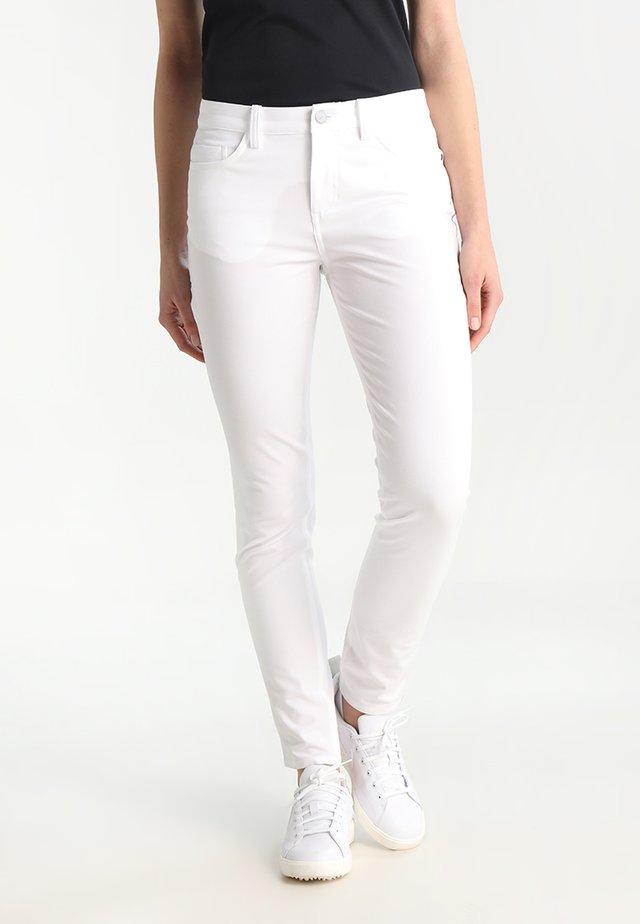 DRY PANT - Stoffhose - white