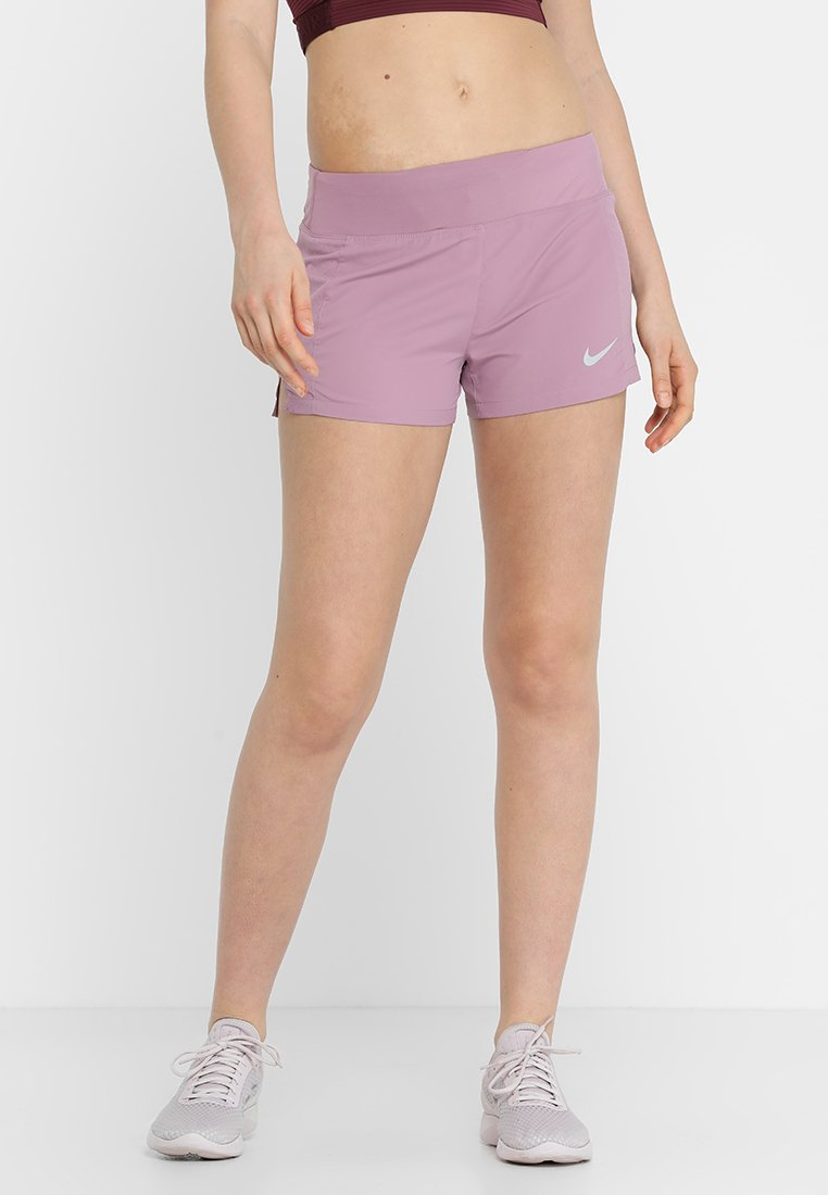 Nike Performance - RACE SHORT - Sports shorts - plum dust/reflective silver