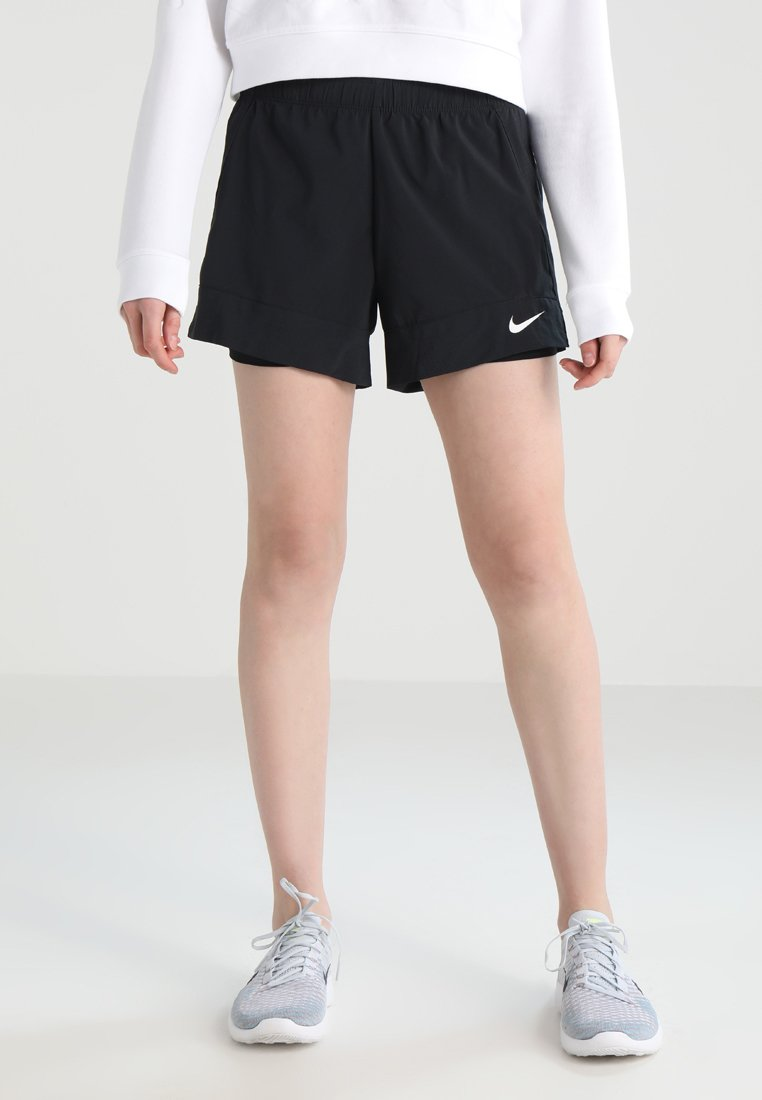 Nike Performance - FLEX 2-IN-1 SHORT - Sports shorts - black/white