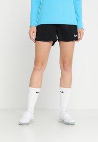 Nike Performance - DRY SHORT - Sports shorts - black/black/white - 0