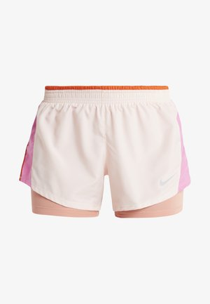 10K 2IN1 SHORT - Sports shorts - echo pink/china rose/cosmic clay/wolf grey